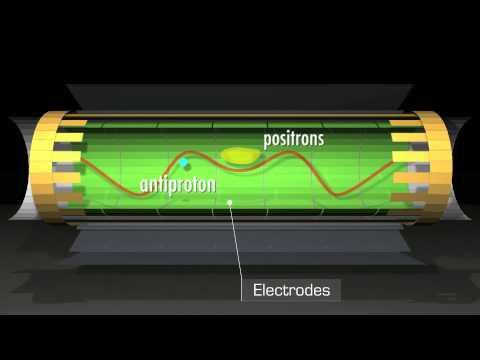 3D modelling: Cern's antihydrogen trap