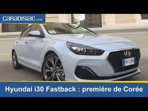 Essai – Hyundai i30 Fastback: première de Corée