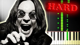 Ozzy Osbourne CRAZY TRAIN - Piano Tutorial with FULL GUITAR SOLO.mp3