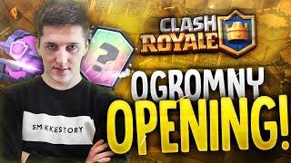 """Clash Royale #63 """"OGROMNY OPENING"""""""