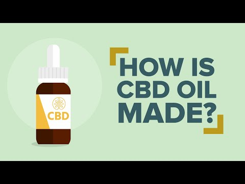 How is CBD Oil Made?