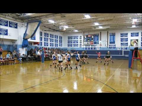 N.H. DIII High School Volleyball Quarterfinal; Inter-Lakes v. Moultonborough Academy 10/29/16