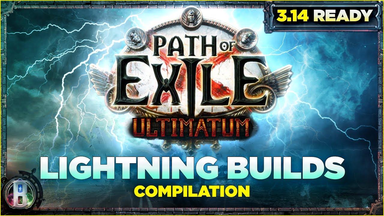 Path of Exile 3.14 - 6 Mid-League & Starter Builds for Ultimatum - Lightning PoE Ultimatum PoE 3.14