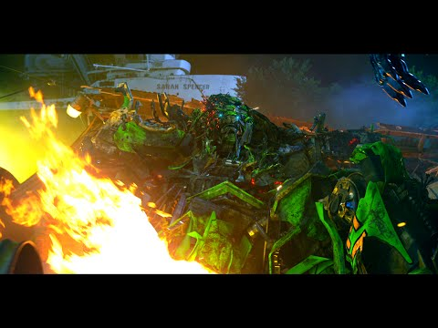 Transformers Age Of Extinction - Ratchet Death Scene (1080pHD VO)