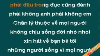 Viet Karaoke   Mot Doi Nguoi Mot Rung Cay Karaoke Tran Trong An CaoCuongPro   Mot Doi Nguoi Mot Rung Cay Karaoke Tran Trong An CaoCuongPro
