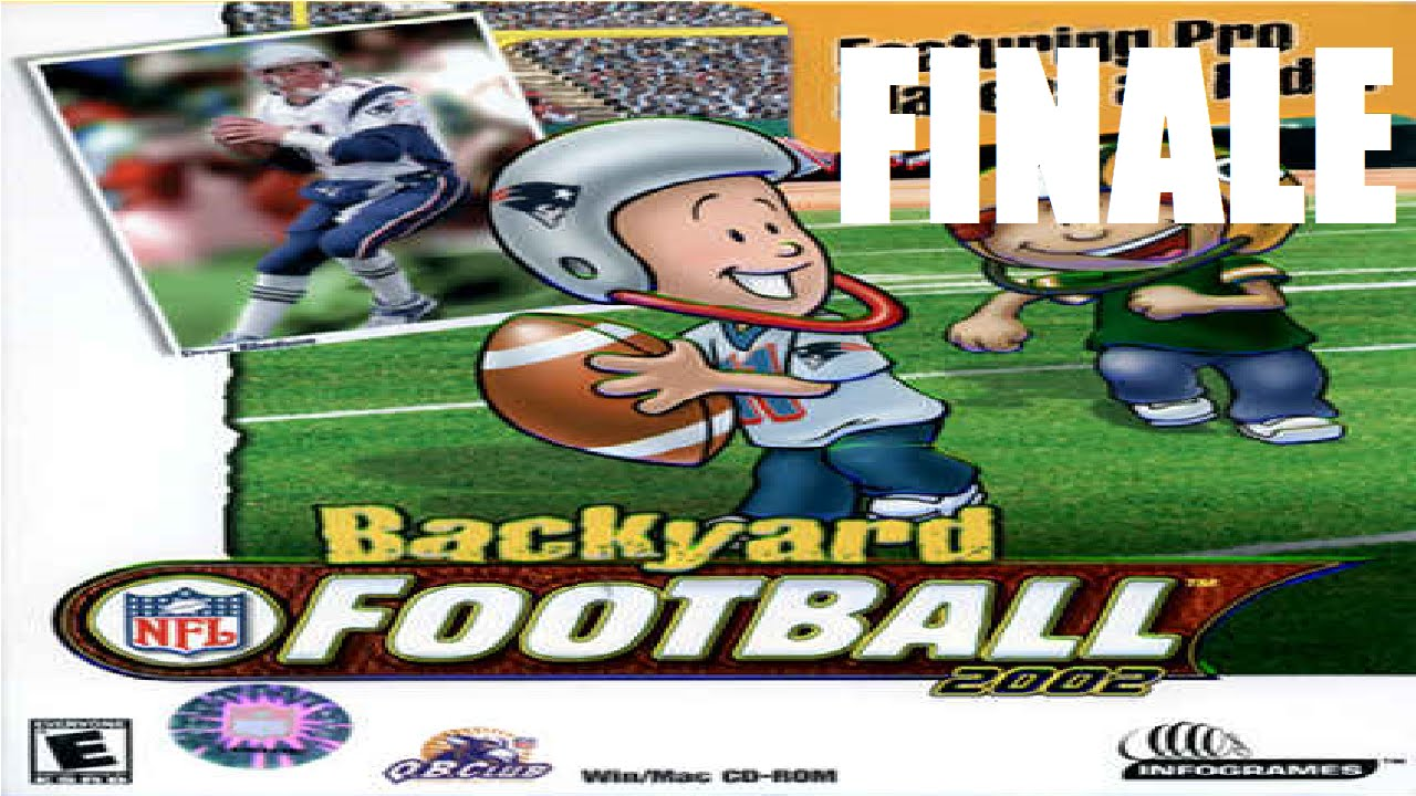 road to the super bowl backyard football 2002 finale youtube