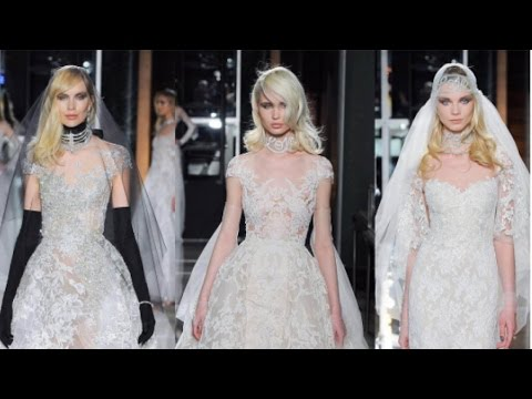 Reem Acra and Tiffany & Company Spring Summer 2018 Bridal Collection | New York Bridal Fashion Week