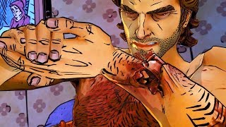 Swineheart Fixes Wounded Werewolf (Wolf Among Us | Telltale Games Story | Fables)