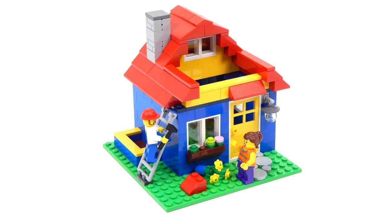Lego Home 40154 Pencil Pot Speed Build - YouTube