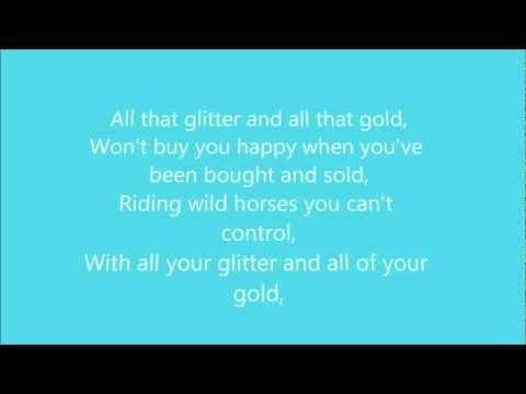 Rebecca Ferguson - Glitter & Gold On Screen Lyrics