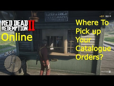 Red Dead Redemption 2 Online - Where To Pick Up Your Catalogue Orders?