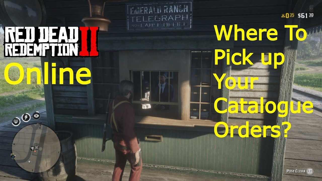 red dead redemption 2 online where to pick up your catalogue