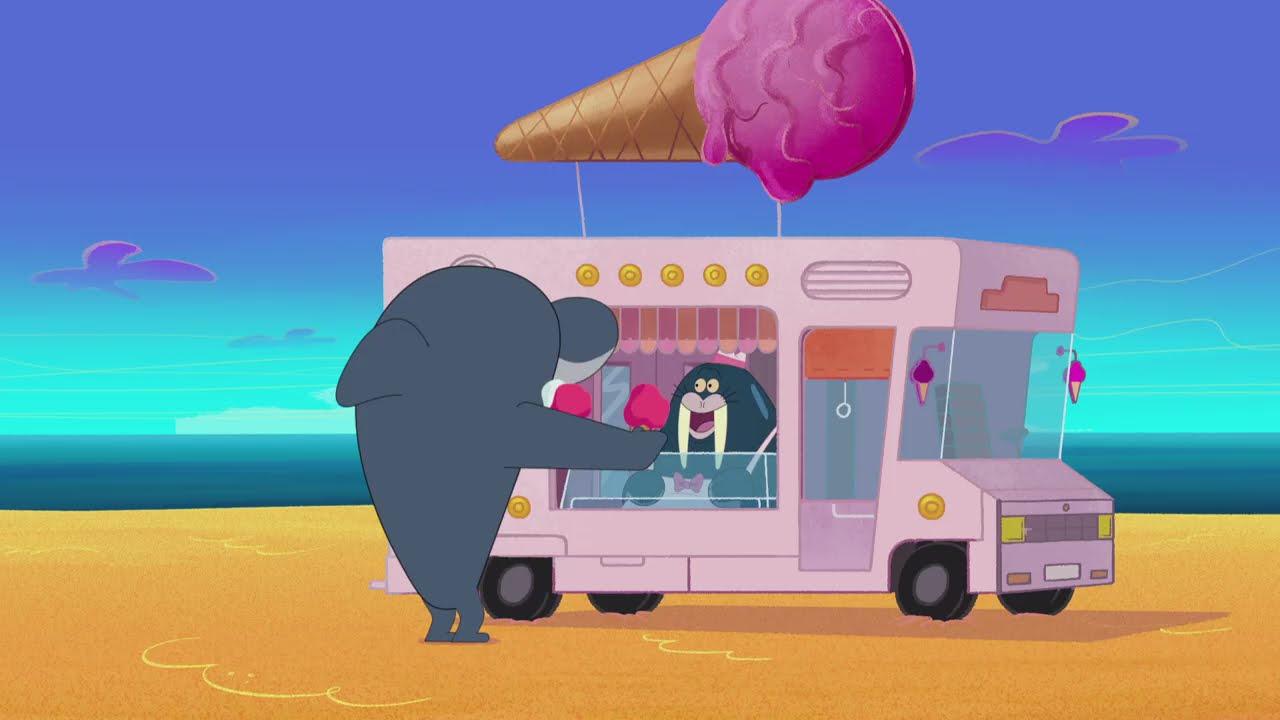 Zig & Sharko 🍦🚛 ICE CREAM SHOP 🍦🚛 2021 COMPILATION 🎭 Cartoons for Children