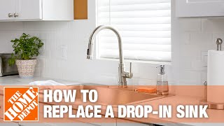 how to replace a kitchen sink the