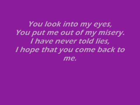 Lil' Rain - Adore You Lyrics