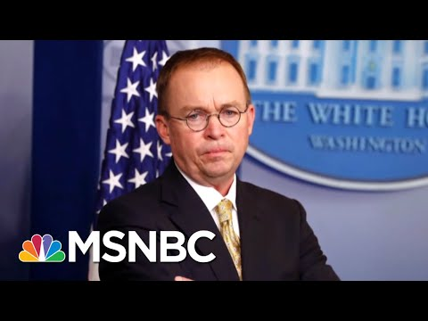 Former Rep Jolly: Mick Mulvaney's Actions 'Should Be Illegal' | MSNBC