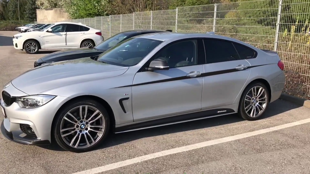 BMW 4 series Gran Coupe M Performance Kit WALK AROUND  YouTube