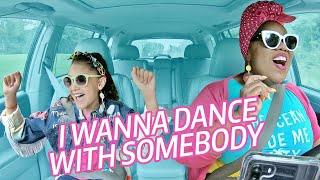 Little Girl Sings Whitney Houston I Wanna Dance With Somebody w/ Vocal Coach
