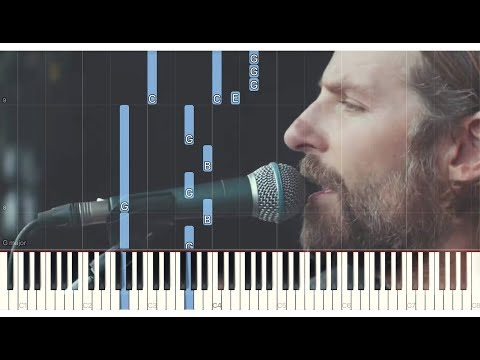 Bradley Cooper - Maybe It's Time - A Star Is Born - Piano Tutorial