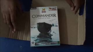 Commander Europe at War Unboxing and Installation