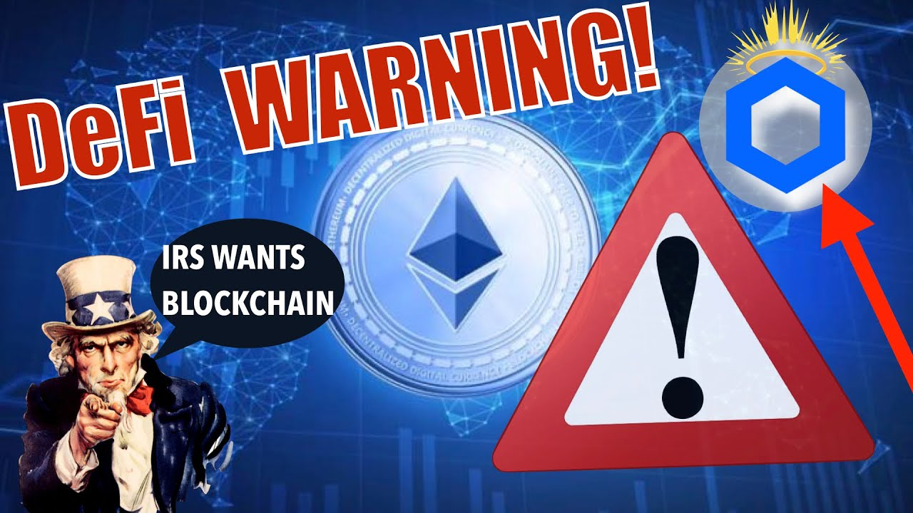 BREAKING NEWS! ETH DeFi WARNING: FLASH LOANS! @Chainlink Set To EXPLODE over the NEXT WEEKS and IRS! 6