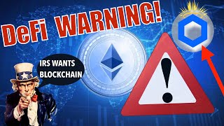 BREAKING NEWS! ETH DeFi WARNING: FLASH LOANS! @Chainlink Set To EXPLODE over the NEXT WEEKS and IRS!