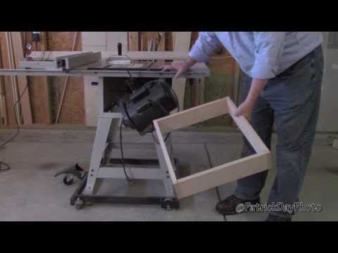 DIY Table Saw Workstation/Cabinet (Part 1 of 3)