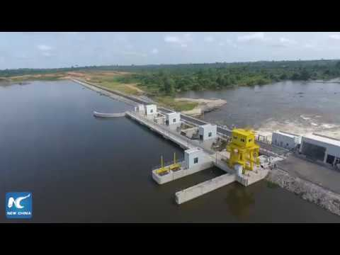 Chinese-built hydropower dam largest of its kind in Cote d'Ivoire