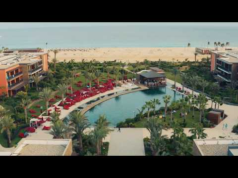 Drone video of Hilton Cabo Verde Sal Resort