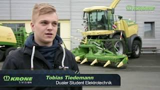 Tobias Tiedemann – Dualer Student Elektrotechnik – stellt sich vor