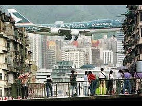 The Last Hurrah for Plane Spotters  at  Kai Tak Hong Kong Airport  Airplanes