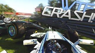 F1 2015 Codemasters GLITCH & CRASH! | Lewis Hamilton TROLLING [HD]