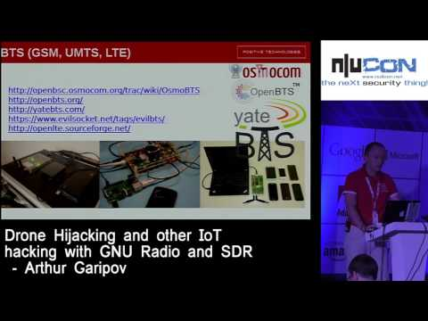 Nullcon Goa 2017 - Drone Hijacking And Other IoT Hacking With GNU Radio And SDR By Arthur Garipov