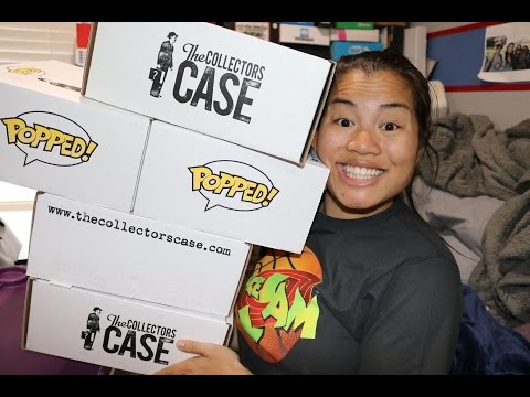 Collectors Case POPPED Cases - [Mystery Funko POPs] x5