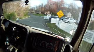 Recycling Truck POV GoPro