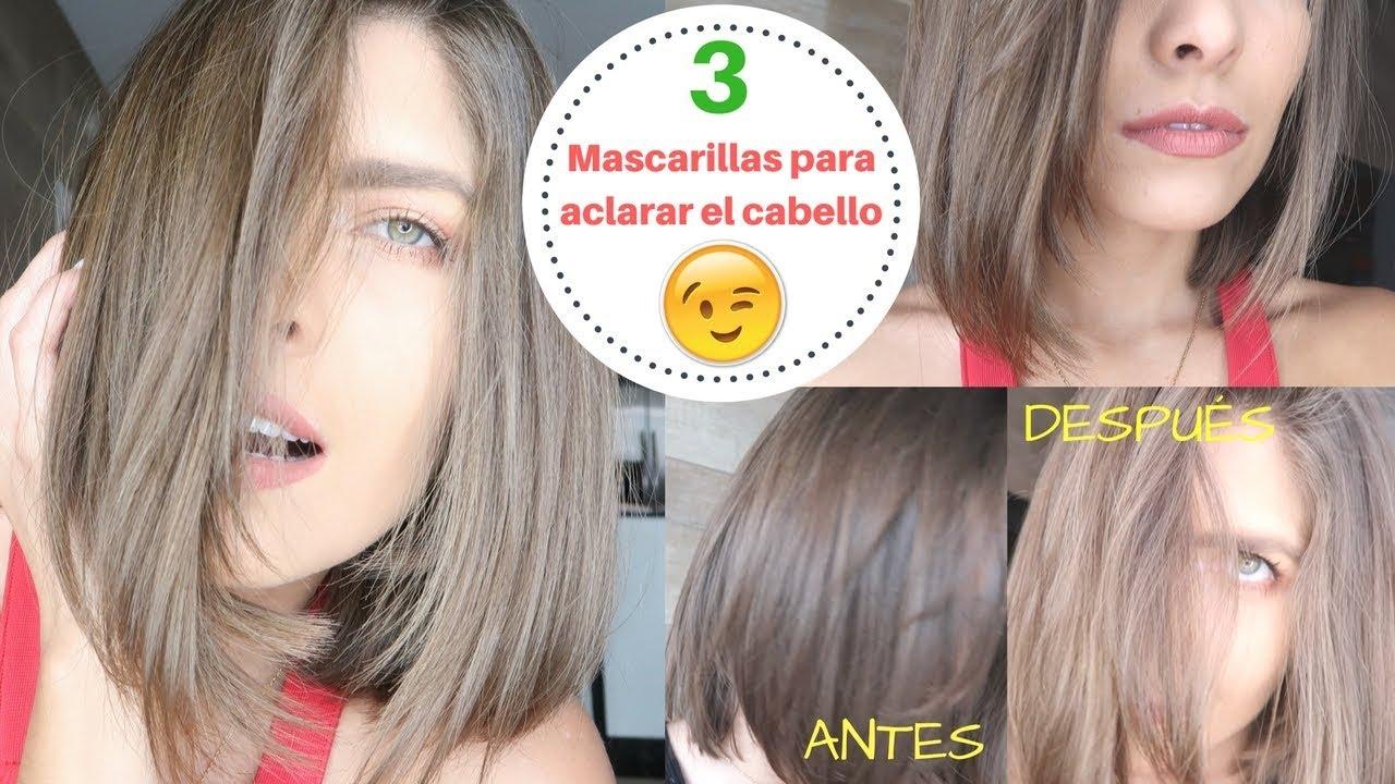 Aclarar cabello con bicarbonato