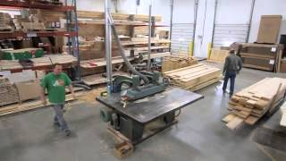 Shuffleboard Table Manufacturing: The Process Of Ripping Wood