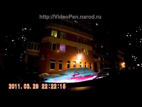 Образец видео (ночь) - авторегистратор VD-720P
