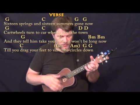 Circle Game (Joni Mitchell) Ukulele Cover Lesson in G with Chords/Lyrics