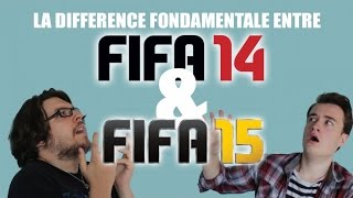 LA DIFFERENCE FONDAMENTALE ENTRE FIFA 14 ET FIFA 15 (ft Hardisk)