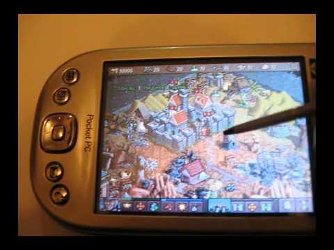 Видеообзор игр для КПК HP iPAQ h4150 2 часть.