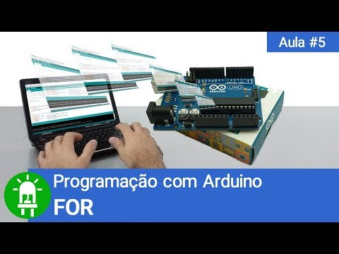 Curso De Arduino - Aula 05 - FOR