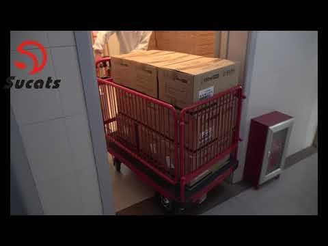 Electric Battery Powered Drive Platform Cart Dolly