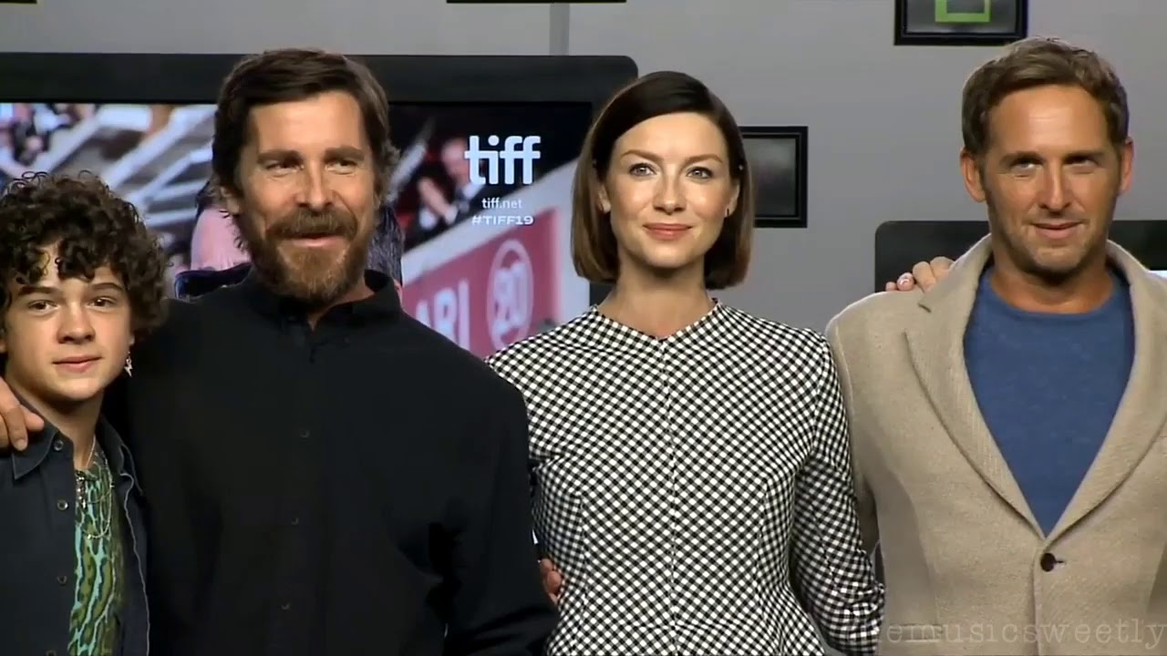 Ford V Ferrari Press Conference Tiff 2019 Caitriona Balfe Answers Questions Youtube
