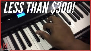 A Great 88-Key Midi Controller for less than $300!! (Williams Allegro 2)