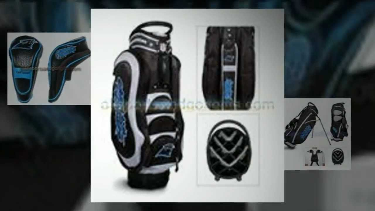 Carolina Panthers Head Covers Golf Bags