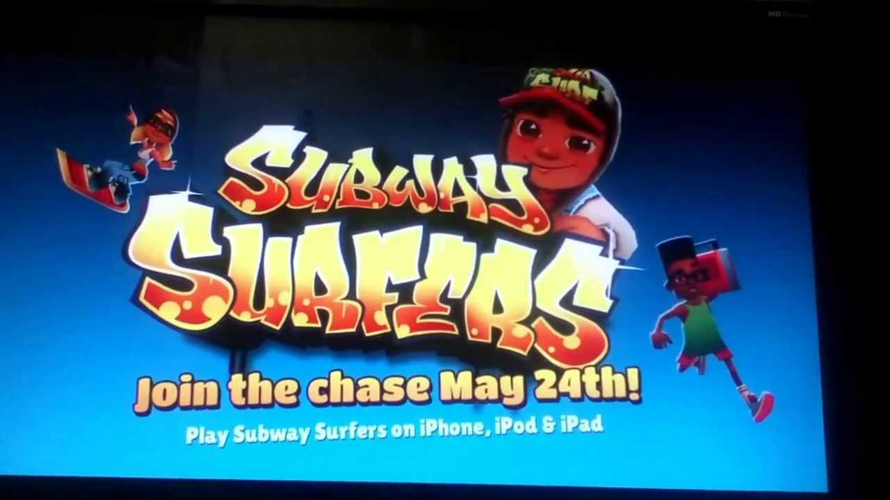Download Subway surfers launch trailer