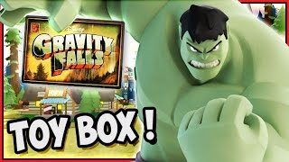 Disney Infinity 2 Toy Box Adventures! Gravity Falls Gameplay (hd)