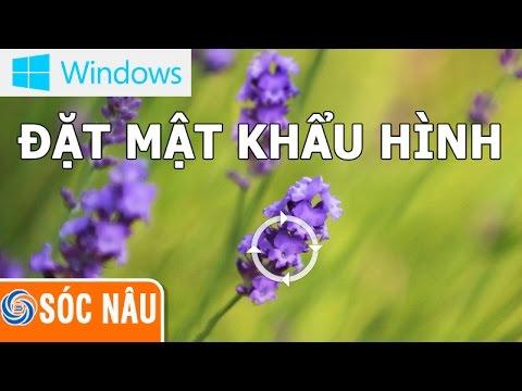 Đặt Mật Khẩu Hình ảnh Trên Windows 10