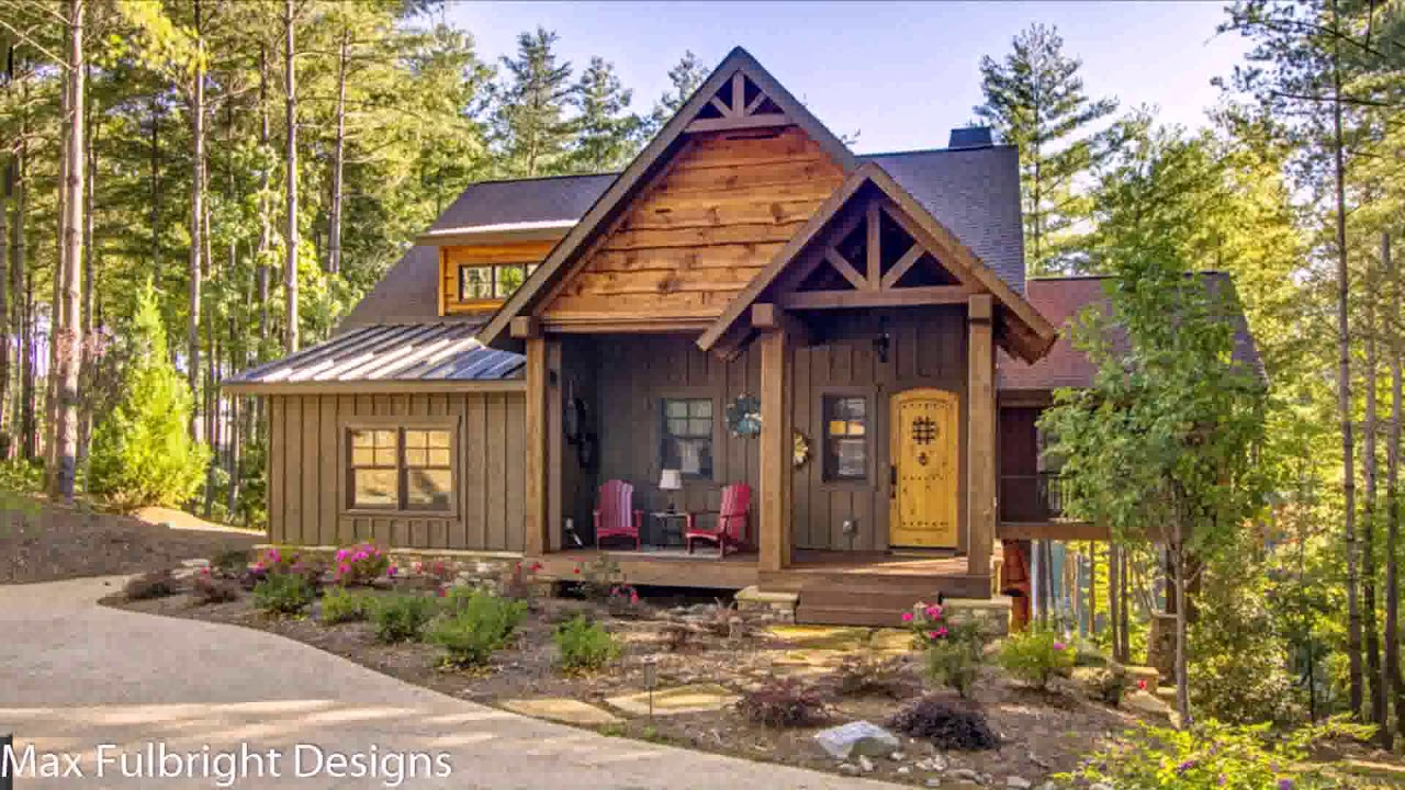 Small Rustic Bungalow House Plans - YouTube